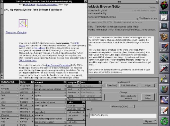 WorldWideWeb-世界上第一个网页浏览器