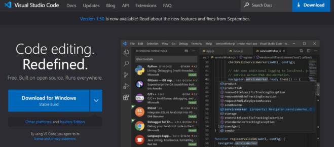 web前端开发工具vscode下载地址